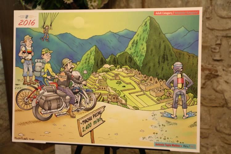 Turizm Karikatürleri sergisi