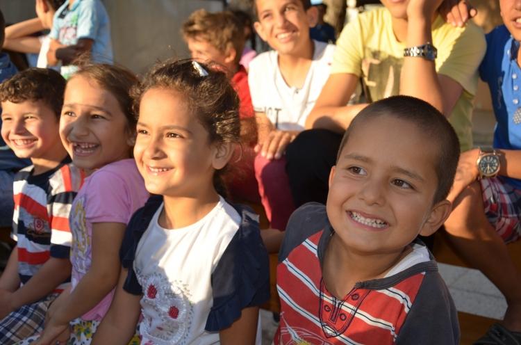 Çocukların yüzünü güldüren şenlik