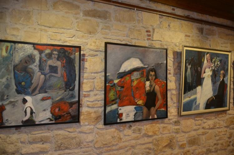 Hasan Temur'un yağlı boya sergisi İbramaki'de