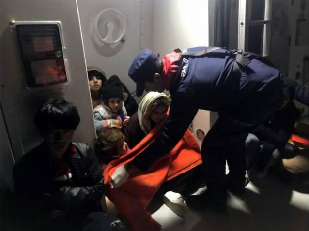 4 Günde 218 Kaçak Göçmen Yakalandı