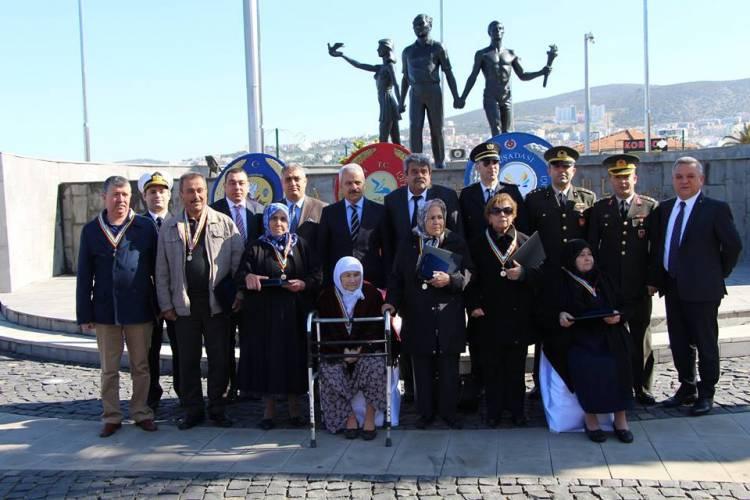Kore Gazilerinin madalyaları verildi