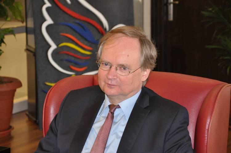 AB Delegasyon başkanı Kuşadası'nda