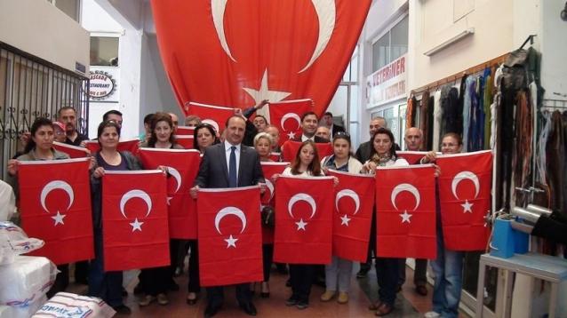 MHP İlçe Başkanı Sarı basın toplantısı düzenledi