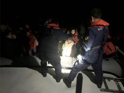 Körfezde 44 mülteci