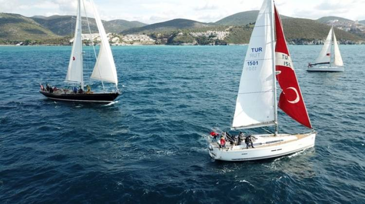 'Yelkenli Yat Yarışı' heyecanı başladı