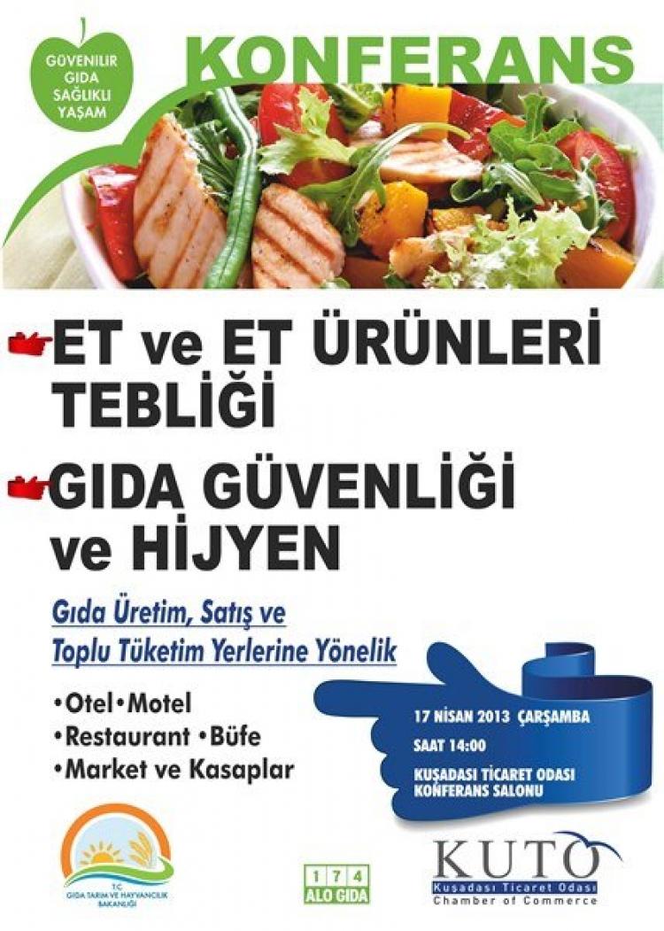 Gıda güvenliği konferansı
