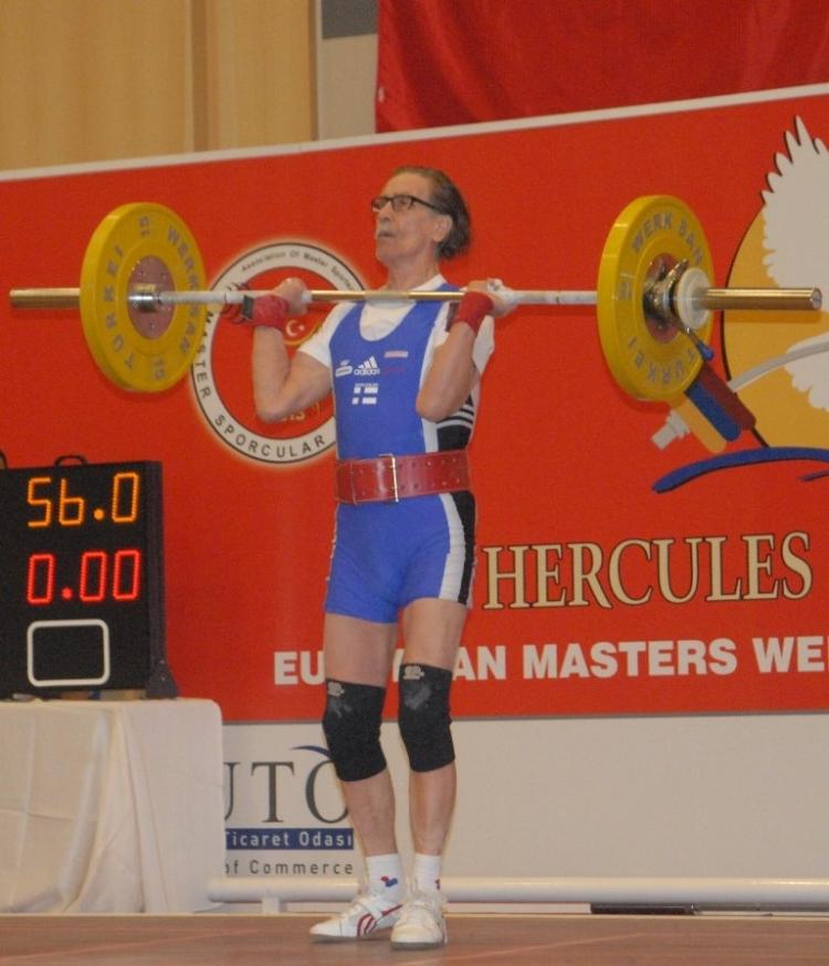 Avrupa Halter Şampiyonası başladı