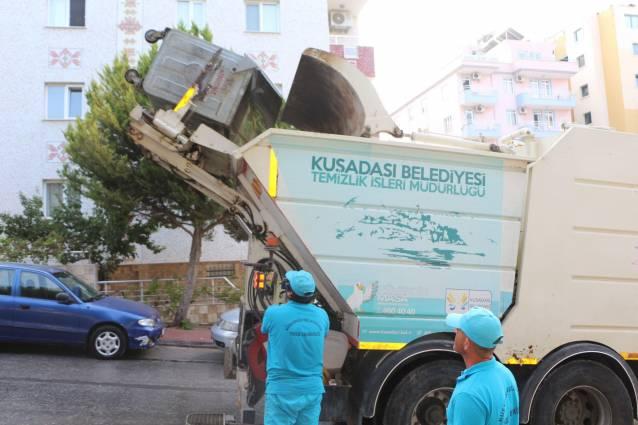 9 Günde 3 bin 710 ton çöp toplandı