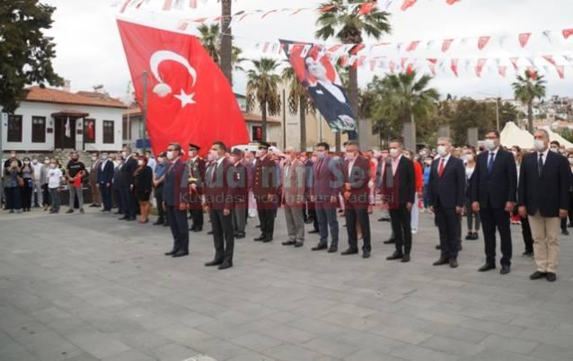 KUŞADASI'NDA 29 Ekim törenleri başladı