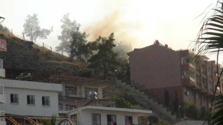 Kese dağında yangın