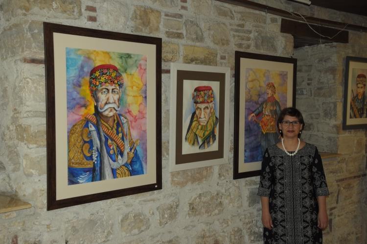 Öncüer'den Suluboya resim sergisi