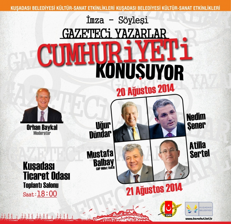 Gazeteci Yazarlar Cumhuriyeti konuşacak