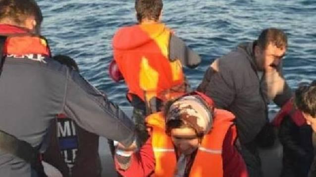 Göçmenler yakalandı