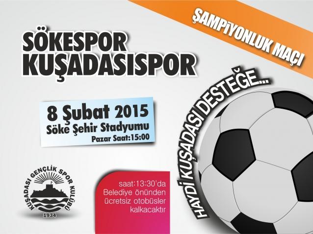 Kuşadası Gençlikspor şampiyonluk maçına çıkıyor