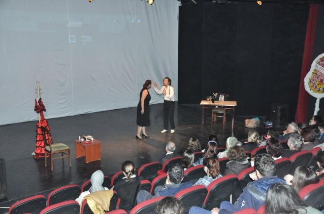 Dünya Tiyatrolar Günü Kuşadası'nda kutlandı
