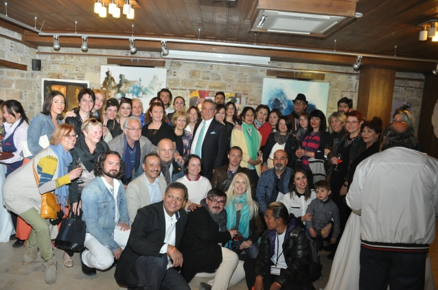 Çalıştay Seçkileri Sergisi İbramaki'de sanatseverlerle buluştu