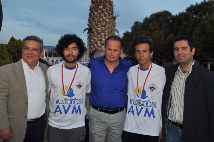Kuşadası Gençlik Spor'da kupa heyecanı