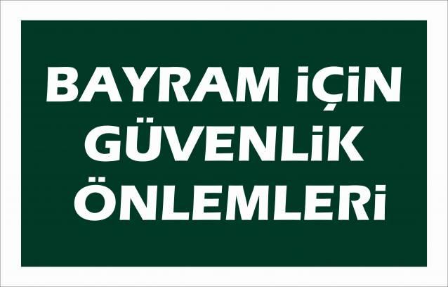 Aydın'da bayram öncesi önlem