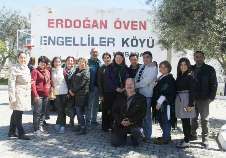 Üniversite personeli Engellilere Köyünde