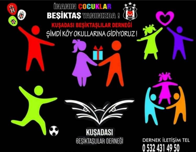 Beşiktaşlılar 'Orada bir köy var uzakta' dedi