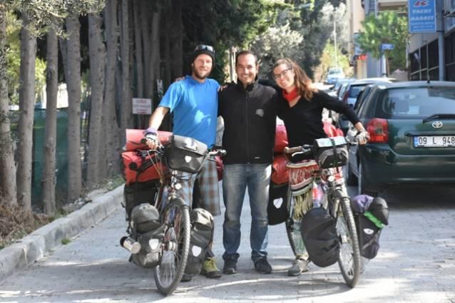 Almanya'dan Türkiye'ye pedal çevirdiler