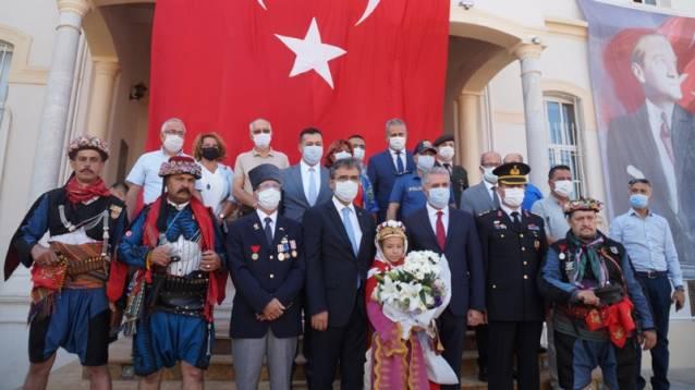 Aydın'ın kurtuluşunun 99. yıl dönümü törenlerle kutlandı