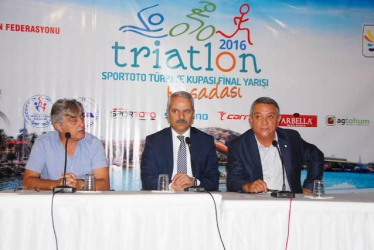 Triatlon Türkiye Kupası başlıyor