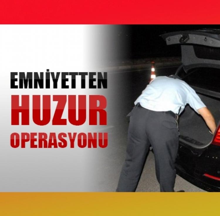 Polisten operasyon