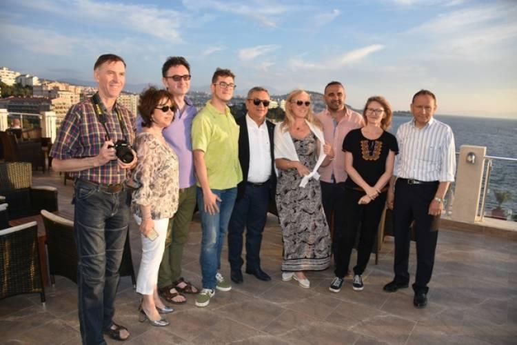 Polonyalı gazeteciler Kuşadası'nda