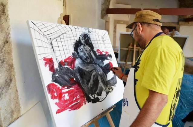Kuşadası'nda uluslararası sanat rüzgarı