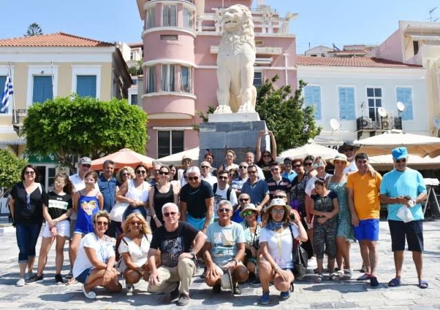 SKAL Gezisi Samos'a damga vurdu