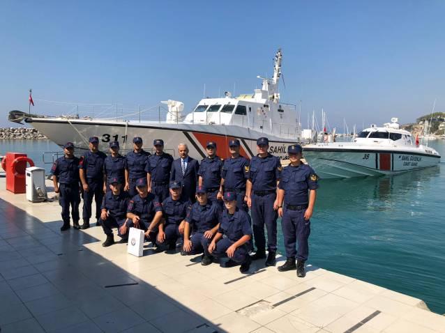Kaymakamı Aksoy'dan Sahil Güvenlik Komutanlığına Ziyaret
