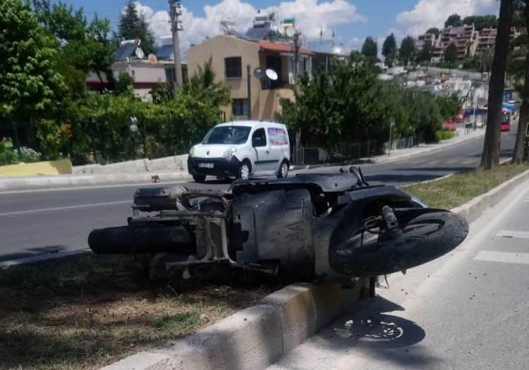 Yine motosiklet, yine ölümlü kaza